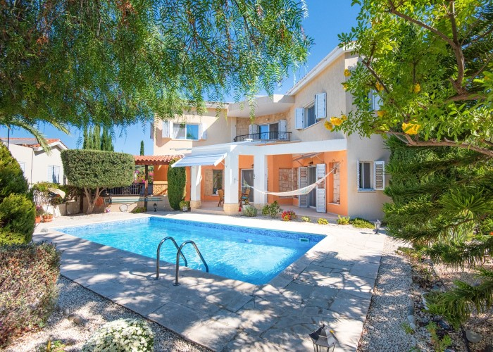 Detached Villa For Sale  in  Argaka